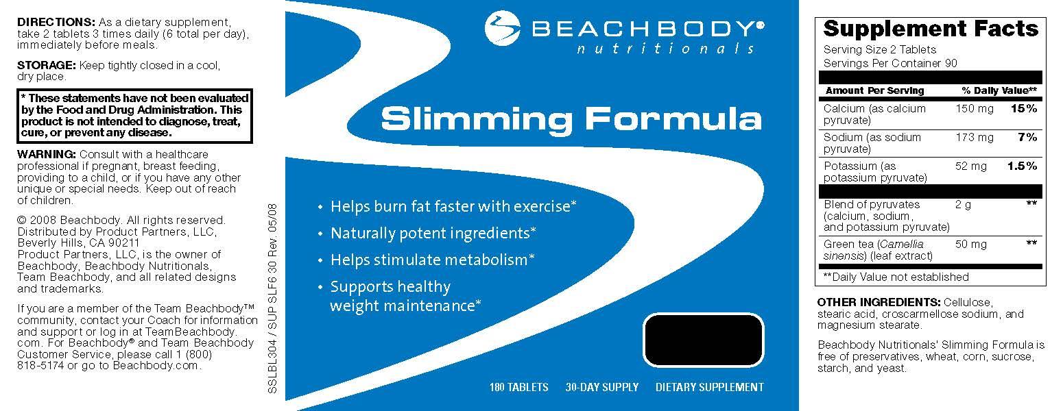 Beachbody Slimming Pack, ActiVit Metabolism & Slimming ...